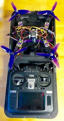 Custom Racing Drone Complete With Pre Programmed Radiomaster TX16S Transmitter N • 350£