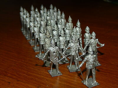 Vintage 30mm Metal British Army Marching Band By PMD • 36£