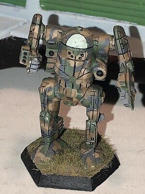 Battletech/Ral Patha 20-755 SPARTAN Mech Metal Miniature, Painted And Based. • 10£