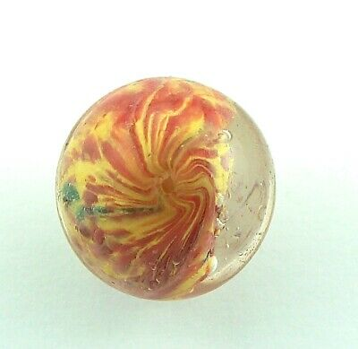 29/32  Antique German Handmade Glass Marble - 23mm • 16.51£