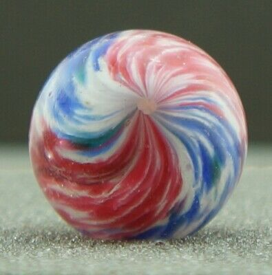 27/32  Antique German Handmade Glass Marble - 21.5mm • 11.50£