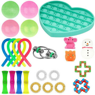 24Pcs Fidget Sensory Special Need Education Toys Set Autism ADHD Stress Relief  • 14.99£