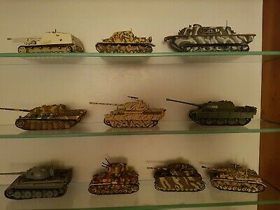 German Tanks And Vehicles Of WWII. Job Lot X 10 • 26£