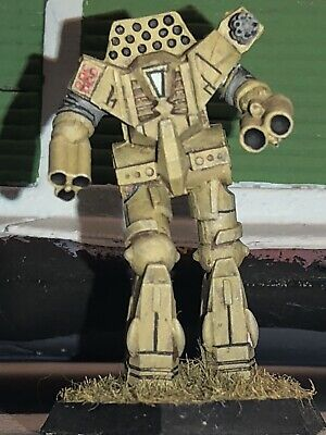 Battletech/Ral Patha 20-641 INITIATE Mech Metal Miniature, Painted And Based. • 10£