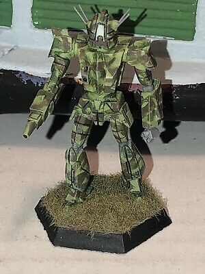 Battletech/Ral Patha 20-680 GALLOWGLAS Mech Miniature, Painted And Based. • 10£
