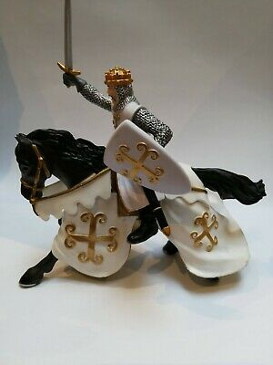 Papo Knight Chainmail Knight Figure (Multi-Colour) Rare Used Figure • 22£
