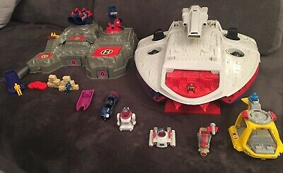 Vintage Bluebird 1986 Manta Force Command Ship And Battle Fortress • 15.50£