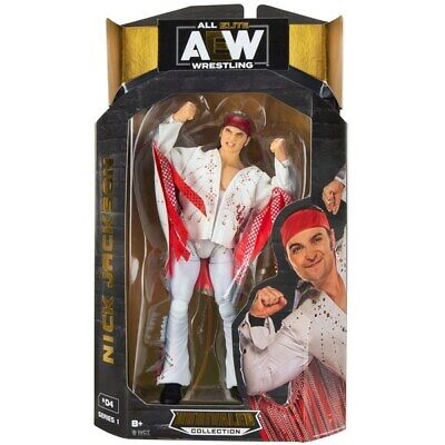 AEW All Elite Wrestling Unrivaled Nick Jackson Action Figure - Brand NEW • 19.99£