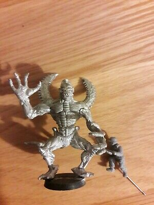 Large Metal Demon Warhammer 40K Age Of Sigmar Wargames  • 18£