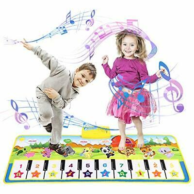 Children's Piano Mat Toddler Children's Toys Girls Boys, Touch Game • 22.99£