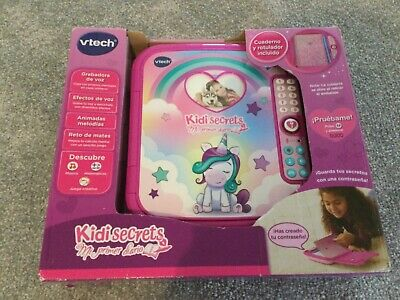 Vtech Kidi Dreams Magic Intimate Journal Electronic Toys Educative, Pink • 5.99£