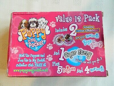 Puppy In My Pocket Collectables: Vintage 12 Pack • 7£