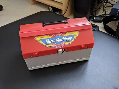 Vintage Galoob Micro Machines Super City Toolbox Boxed • 9.10£