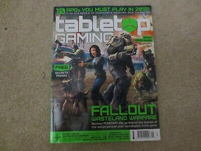 Tabletop Gaming Magazine Issue 14 - January 2018 • 4.99£