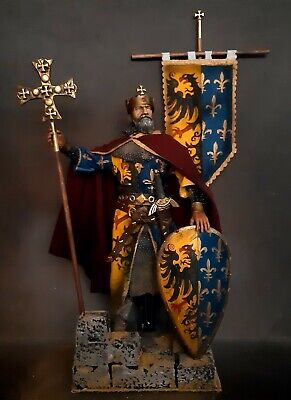 12  Custom Emperor Charlemagne  King Of The Franks & Lombards 1/6 Figure Ignite • 82£