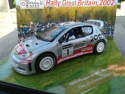 Vitesse Rally 1/ 43  Peugeot 206 WRC 2002 GB  Burns Reid • 20£