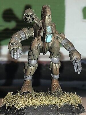 Battletech/Ral Patha 20-214 BLOODHOUND Mech Metal Minature, Painted And Based. • 10£