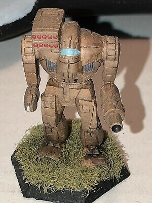 Battletech/Ral Patha 20-754 LINEHOLDER Mech Metal Miniature, Painted And Based. • 10£