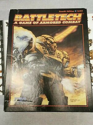BATTLETECH - A Game Of Armored Combat - Fourth Edition 1996 - 1604 - RPG • 20£