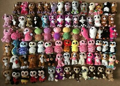 "Rare Ty Beanie Boo Boos Approx. 6"" Soft Toys With Swing Tags  • 6.99£"