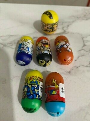 6 X Moose 2010 Mighty Beanz - Excellent Condition - Incl. Rare Postman, Jock +++ • 3.50£
