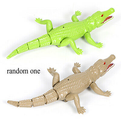 Innovative Two-way Infrared Remote Control Alligator Simulation Animal Electric • 17.76£