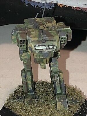 Battletech/Ral Patha 20-757 STRIDER Mech Metal Miniature, Painted And Based. • 10£
