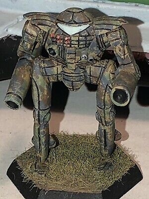 Battletech/Ral Patha 20-916 MERLIN Mech Metal Miniature, Painted And Based. • 10£