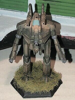 Battletech/Ral Patha 20-669 ANVIL Mech Metal Miniature, Painted And Based. • 10£