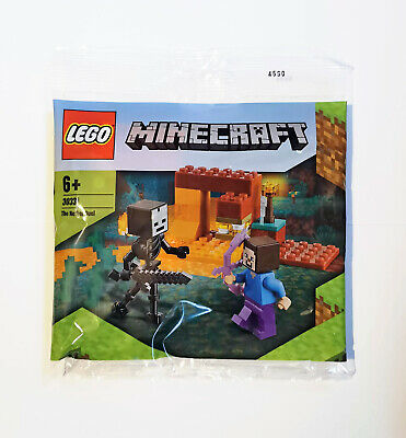 LEGO - Minecraft (30331) The Nether Duel - Polybag NEW & Sealed • 8.75£
