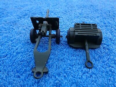 Dinky Toys 25-pounder Field Gun # 686 & Limber # 687 MECCANO Made In England. • 20£