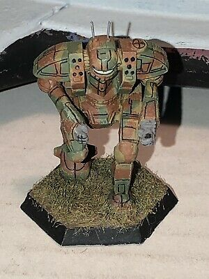 Battletech/Ral Patha 20-798 HAMMER Mech Metal Miniature, Painted And Based. • 10£