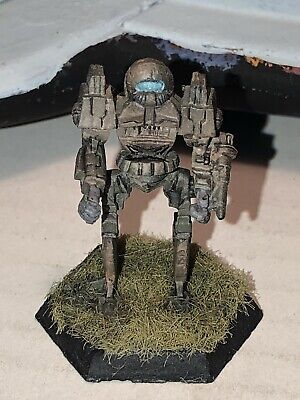 Battletech/Ral Patha 20-654D WATCHMAN Mech Miniature, Painted And Based. • 10£