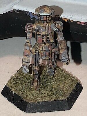 Battletech/Ral Patha 20-269 COSSACK Mech Miniature, Painted And Based. • 10£