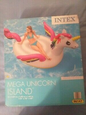 Intex Inflatable Mega Unicorn Island • 7.20£