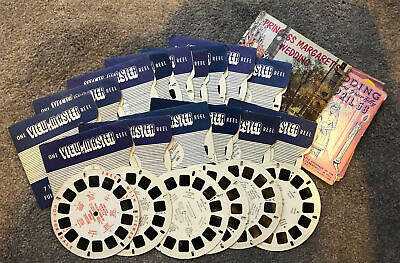 Vintage 1950s View-Master Reels Collection Job Lot • 2.10£