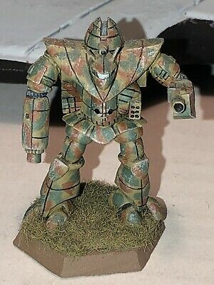 Battletech/Ral Patha 20-617 TEMPEST Mech Metal Miniature, Painted And Based. • 10£