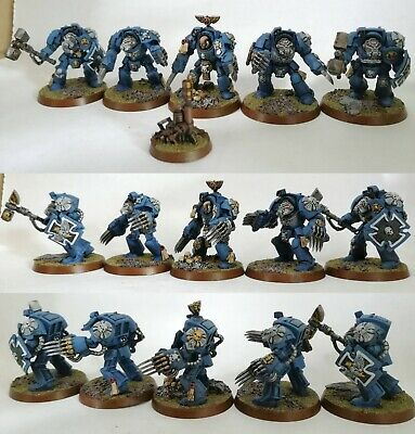 Warhammer 40K Terminator Close Combat Squad Warhammer Painted Professionally • 40£