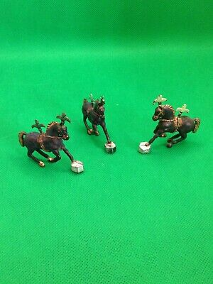 Vintage Plastic Chipperfield Circus Ponies X3 - 1:32 Scale • 2.99£