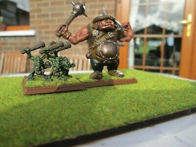Warhammer/Battle Masters Game Figures, Troll = Gnoblers Mob, Sold As Pictured. • 19.95£