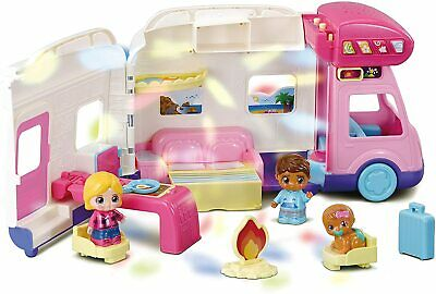 Vtech Toot Toot Friends Moonlight Campervan Play Set Toy  (Torn Box) • 16£