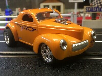 CARRERA EVOLUTION ( Scalextric ) 1:32  41 Willys Coupe HotRod W/lights #:27224 • 60£