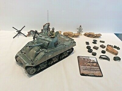 Forces Of Valor US M4A3 Sherman Tank Normandy 1944 • 30£
