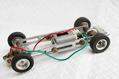 Revell 1/32 Adjustable Aluminium Chassis Lot 1 Vintage 1960's SP500 Motor Riko • 16.55£