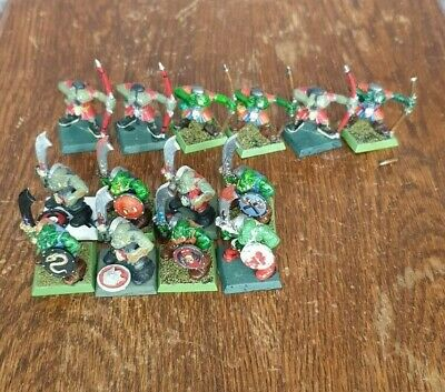 Plastic Orc Warriors And Archers - Warhammer Fantasy OOP • 5.99£