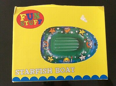 Matalan, Inflatable Star Fish Boat, Age 3+. BNIP. • 3£