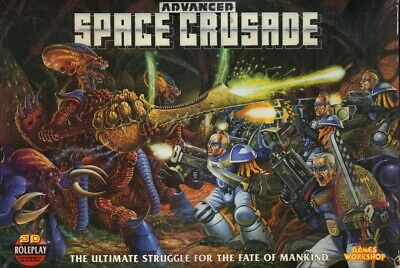 Games Workshop : Advanced Space Crusade Board Game : Complete Box Set • 200£