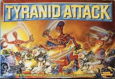 Games Workshop : Tyranid Attack Board Game : Complete Box Set • 265£