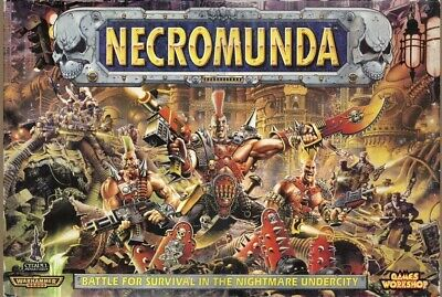 Necromunda : First Edition 1995 : Complete Boxed Game Set • 300£