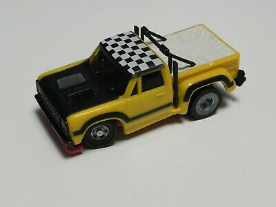 RARE Ideal TCR Mk2 Yellow Pick Up Jam Car - Restored And Ready To Race • 15£